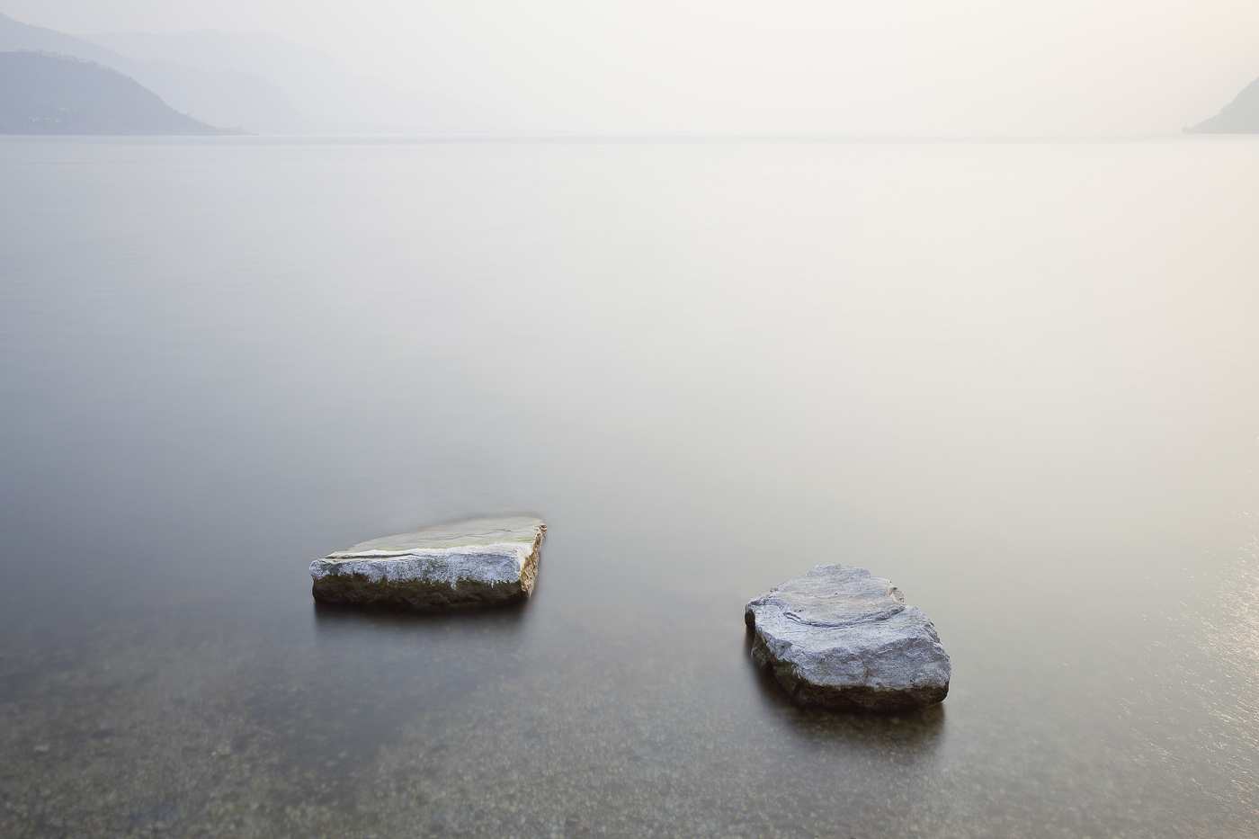 mostra fotografica lago